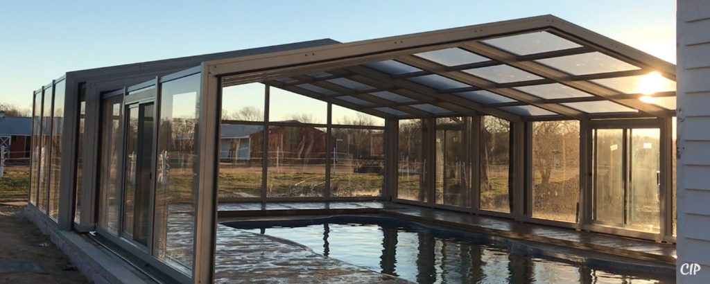 Australia Retractable Pool Enclosures Opening