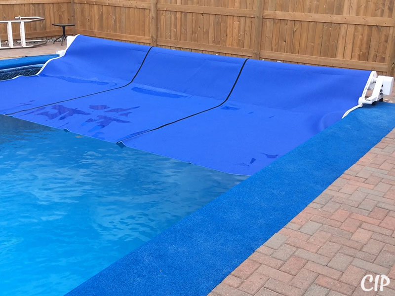 Automatic Pool Cover winding up Australia