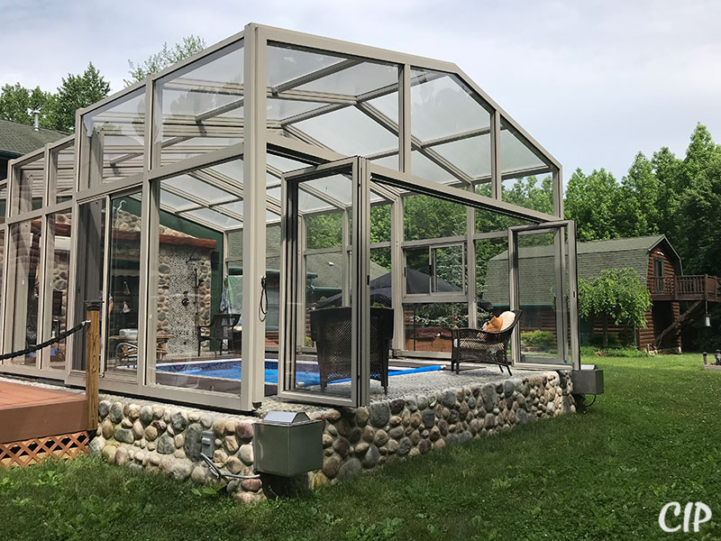 Pool Enclosure with Bi-fold doors Australia