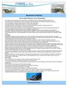 Australia warranty page2-2