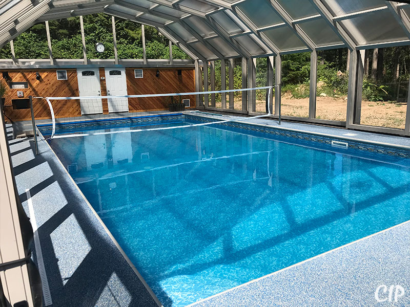 Australia Pool Enclosure Volley Ball