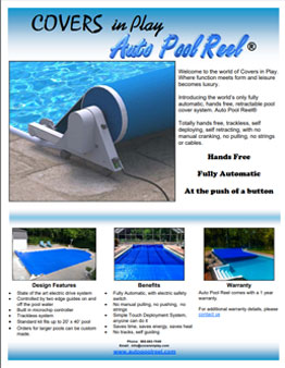 Auto Pool Reel Brochure Page Front