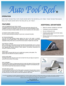 Auto Pool Reel Brochure Page Back